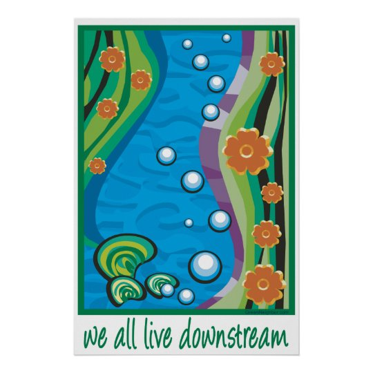 Water Pollution Poster Zazzle Com