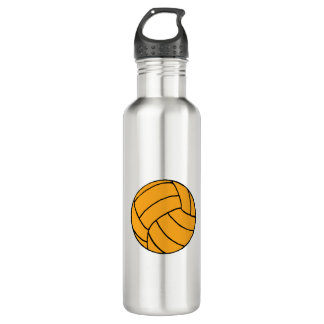 Water Polo Ball Graphic Water Bottle