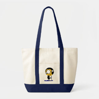 Water Polo Ball-head Player Character Tote Bag