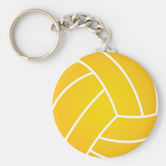 Water Polo Ball Key Chain
