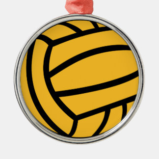 Water polo ball metal ornament