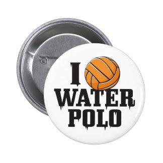 Water polo button