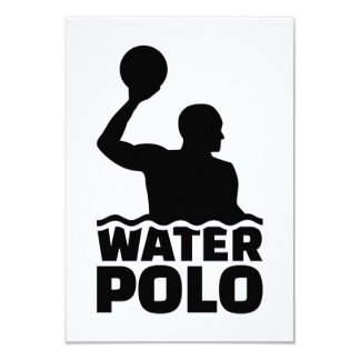 Water polo card