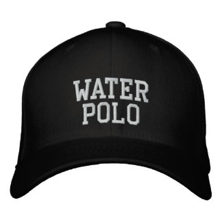 Water Polo Embroidered Baseball Hat