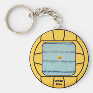 Water Polo frame (add your own photo!) Keychain