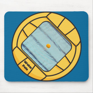 Water Polo frame (add your own photo!) Mouse Pad