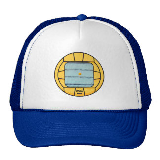 Water Polo frame (add your own photo!) Trucker Hat