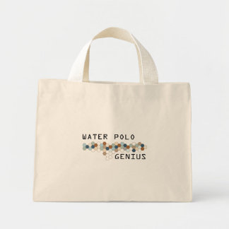 Water Polo Genius Tote Bags