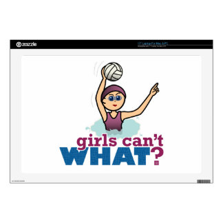 Water Polo Girl Decal For Laptop