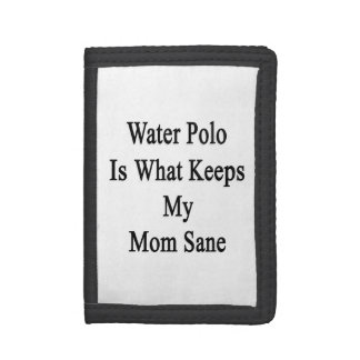 Water Polo Is What Keeps My Mom Sane Wallets