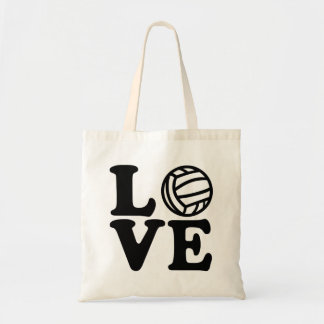 Water polo love tote bag