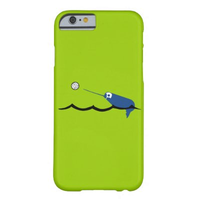 Water Polo Narwhal Zany Du Designs Children Sport iPhone 6 Case