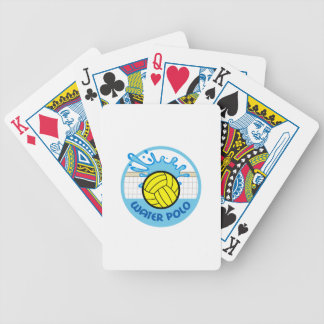 WATER POLO NET SPLASH BICYCLE PLAYING CARDS