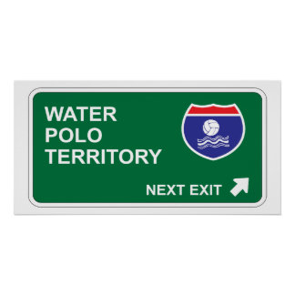 Water Polo Next Exit Poster