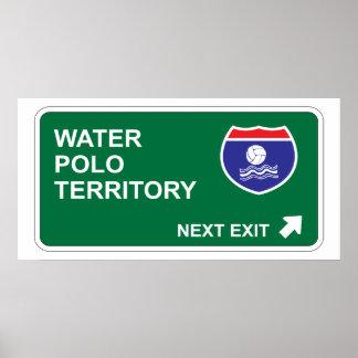 Water Polo Next Exit Print