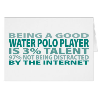 Water Polo Player 3% Talent Card