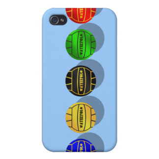 Water polo players and waterpolo players ball case for iPhone 4
