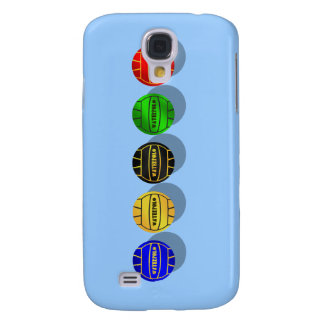 Water polo players and waterpolo players ball samsung galaxy s4 case