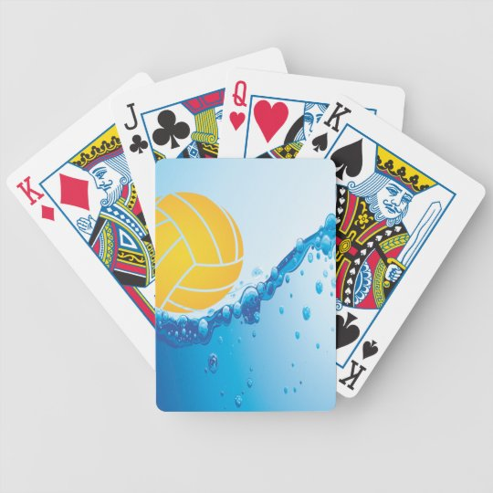 Water Polo playing cards