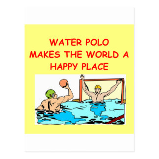 water polo post card