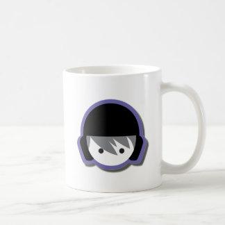 Water polo shop logo with shadow coffee mug