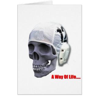 water-polo-skull card