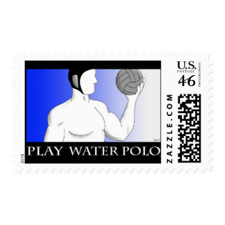 Water Polo Stamp