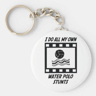 Water Polo Stunts Keychain