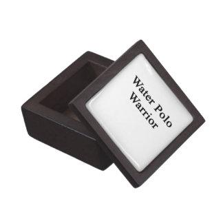 Water Polo Warrior Premium Trinket Boxes
