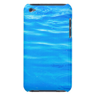 Water pretty deep blue rippling beautiful photo barely there iPod case