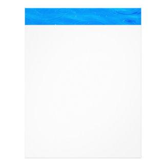 Water pretty deep blue rippling beautiful photo letterhead