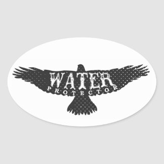 Water Protector -- Eagle Sticker 1