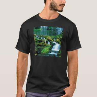 Water Proxy Falls Cascade Range Oregon T-Shirt