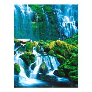 Water Proxy Falls Willamette Custom Letterhead