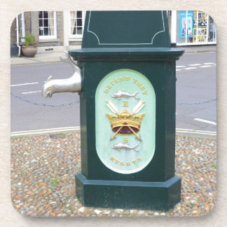 Water Pump At Southwold Beverage Coaster