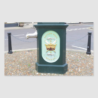 Water Pump At Southwold Rectangular Sticker