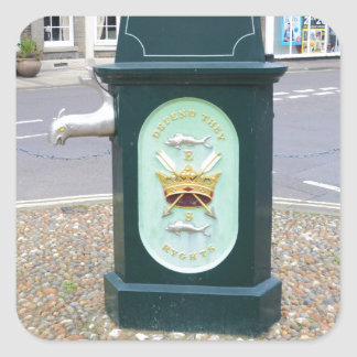 Water Pump At Southwold Square Sticker