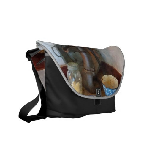 Water Pump in Kitchen Courier Bags