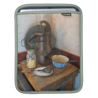 Water Pump in Kitchen iPad Sleeves
