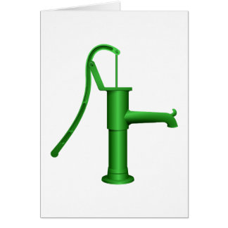 Water Pump Note Cards