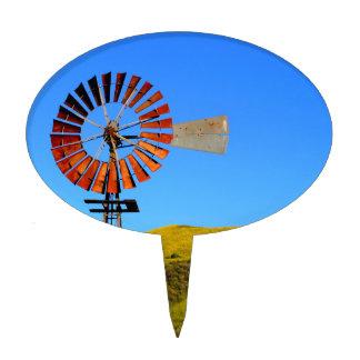 Water Pumping Windmill Cake Pick
