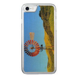 Water Pumping Windmill Carved iPhone 8/7 Case
