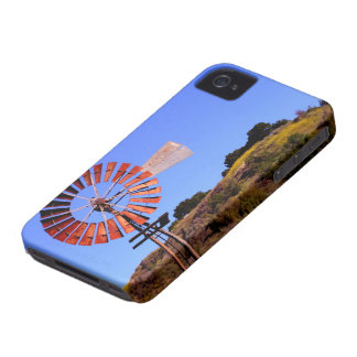 Water Pumping Windmill iPhone 4 Cover