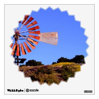 Water Pumping Windmill Wall Decor