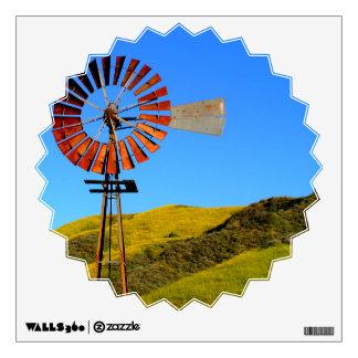 Water Pumping Windmill Wall Graphics