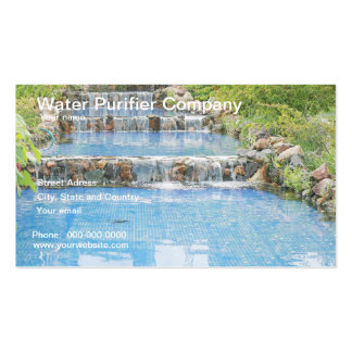 Water purifier company business card