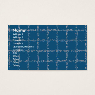 Water Quilt Business Card