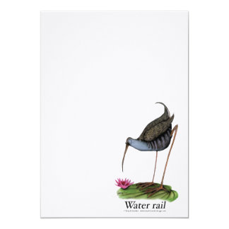 water rail, tony fernandes card