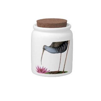 water rail wild bird, tony fernandes candy jars