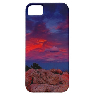 Water Red Rock Night iPhone 5 Case